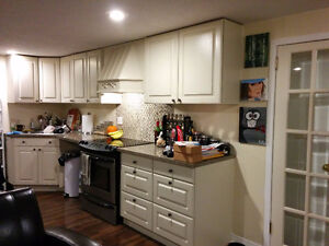 2 bedroom legal basement apartment in central Whitby