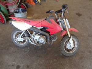 Kids dirt bike