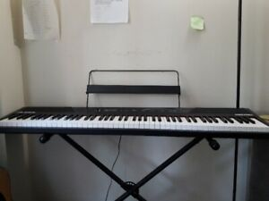 Alesis recital 88-key digital piano with stand and its box