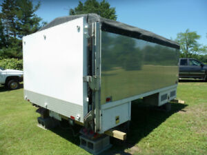 12 Foot Box with 1600 lbs. Aluminum Waltco Electric Lift