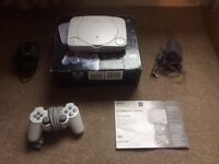 PlayStation one console ps1 slim