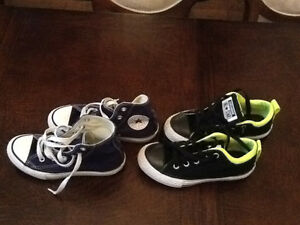 Converse all stars 2 pairs size 12