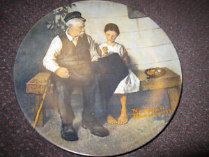 Norman Rockwell The Lighthouse Keeper's Daughter 1979 Collector Kitchener / Waterloo Kitchener Area image 3