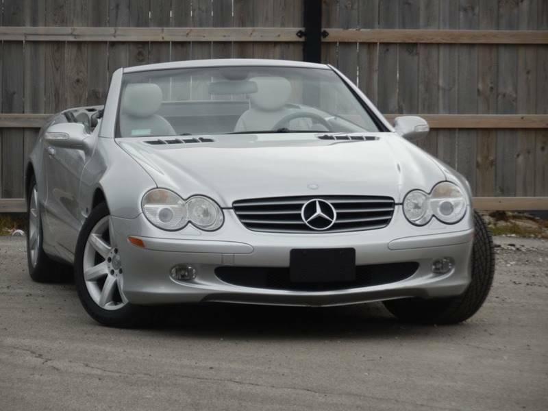 Image 3 Voiture Européenne d'occasion Mercedes-Benz SL-Class 2003