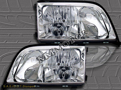 1992-1999 MERCEDES BENZ W140 S-CLASS S320/S350/S420/S500/S600 CHROME HEADLIGHTS, used for sale  Santa Fe Springs
