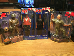 GI Joe 12 inch 4 lot Hasbro mib