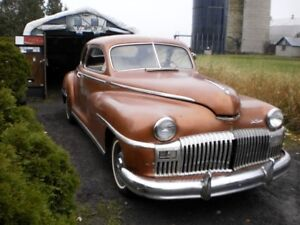 1946 DESOTO 5 WINDOW COUPE PROJECT SOLD PENDING PICKUP