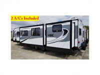 2016 Forest River Vibe 38' Trailer Rental - Pick your spot!