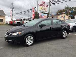 2015 Honda Civic LX    FREE Winter tires on all cars and SUVS