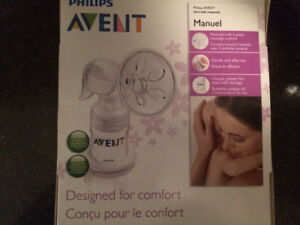 Avent Manual Breast Pump - Like New