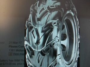 KNAPPS in PRESCOTT has WILD THANG atv tires starting AT $75.00