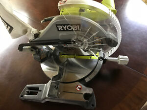 10-inch Compound Miter Saw with Laser - 14 Amp