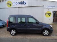 Renault Kangoo Automatic Wheelchair Disability Accessible Car WAV