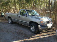 SOLD 1999 GMC Sierra 4x4 manual 5spd