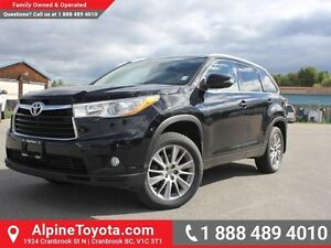 2014 Toyota Highlander XLE  Nav - AWD - Sunroof - 3rd Row Seatin