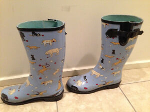 Women's Dog Rain Boots by Hatley- Adult Size 7