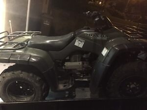 2001 Honda Fourtrax 350 4x4