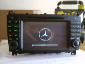 mercedes clk and c-class gps bluetooth dvd player