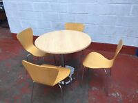 Circular Table & 4 Chairs