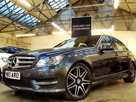 2013 Mercedes-Benz C Class 2.1 C220 CDI BlueEFFICIENCY AMG Sport Plus