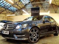 2013 Mercedes-Benz C Class 2.1 C220 CDI BlueEFFICIENCY AMG Sport Plus