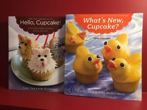 Set of Two Cupcake Decorating Books - Great condition!
