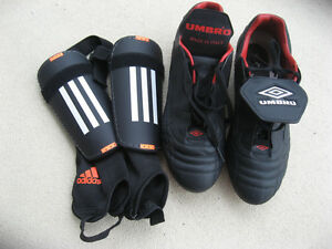 Soccer shoes and accessories