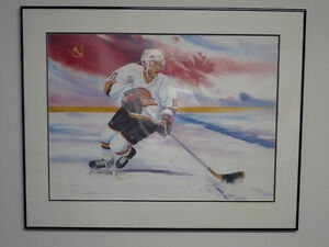 Pavel Bure Ltd. Edition Painting