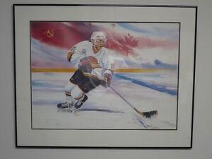 Pavel Bure Ltd. Edition Painting