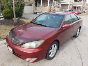 CERTIFIED 2004 Toyota Camry SE $3499 LIKE NEW