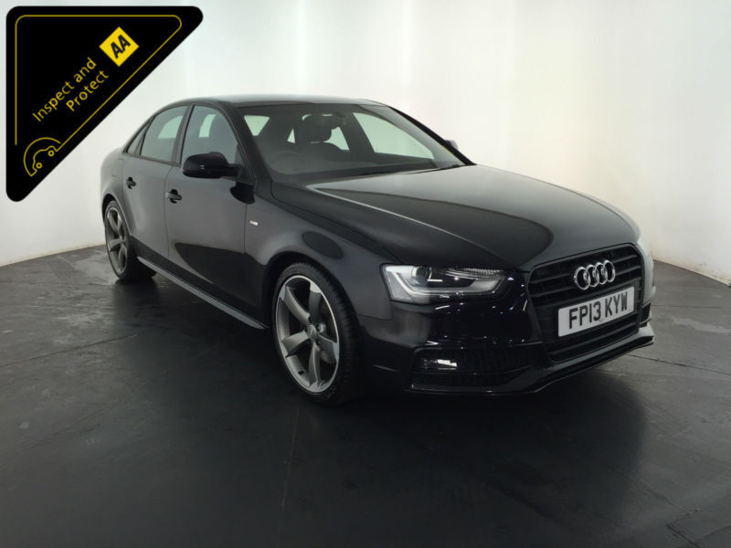 2013 audi a4 s line black edition tdi saloon 1 owner audi. Black Bedroom Furniture Sets. Home Design Ideas