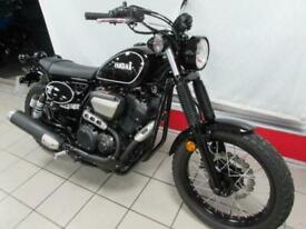 YAMAHA SCR950 XV950R SCRAMBLER VERSION IN BLACK. 2017 67 REG, ONLY 108 MILES....