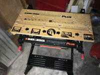 Black & Decker Professional Workbench for sale £45.00 Work Bench