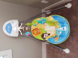 Fisher price swing in good condition