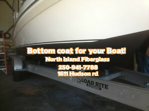 Bottom coat for your Boat! Comox / Courtenay / Cumberland Comox Valley Area image 1