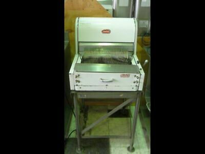 Automatic Bread Slicer Counter-top Berkel Stainless Steel Stand Used