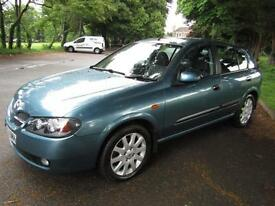 Nissan Almera 1.8 SVE**AUTOMATIC**ABSOLUTELY IMMACULATE!!**TOP OF THE RANGE**FSH