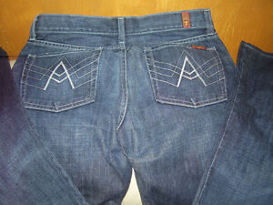 7 For All Mankind Jeans Made in USA New