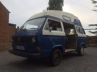 Volkswagen t25 camper van