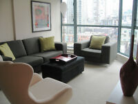 Yaletown 1 Bedroom 640 ft  Rosedale Gardens Furnished Condo