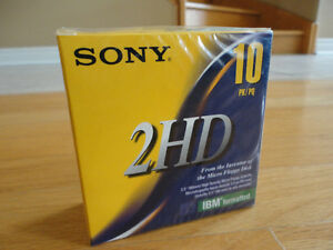 Brand new Sony 2HD pack of floppy disks Sealed