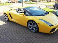 Lamborghini Gallardo 5.0 V10 ( 500bhp ) Spyder LHD