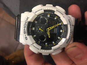 G-shock protection watch