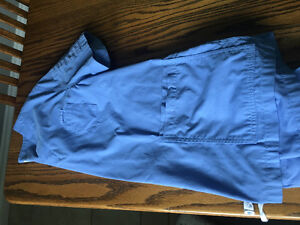 Ceil Blue Scrub Top and 2 Bottoms