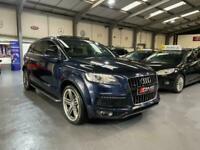 2013 Audi Q7 TDI QUATTRO S LINE PLUS AUTOMATIC 7 SEAT PAN ROOF Estate Diesel Aut