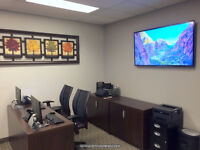 TV Wall Mounting. Same day service. 416-700-6001