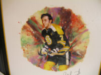 Bruins Phil Esposito Autographed Lithograph Limited Edition
