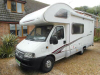 Swift Sundance 590RS - 2006 - Rear Kitchen - 4 Travelling Seats