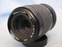 PRAKTICAR PENTACON 70-210MM camera lens 4-5.6 Praktica Bayonet Zoom Macro Lens
