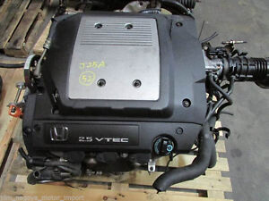 98-02 Honda Accord 3.0L J30A Engine Replacement J25A Moteur Vtec